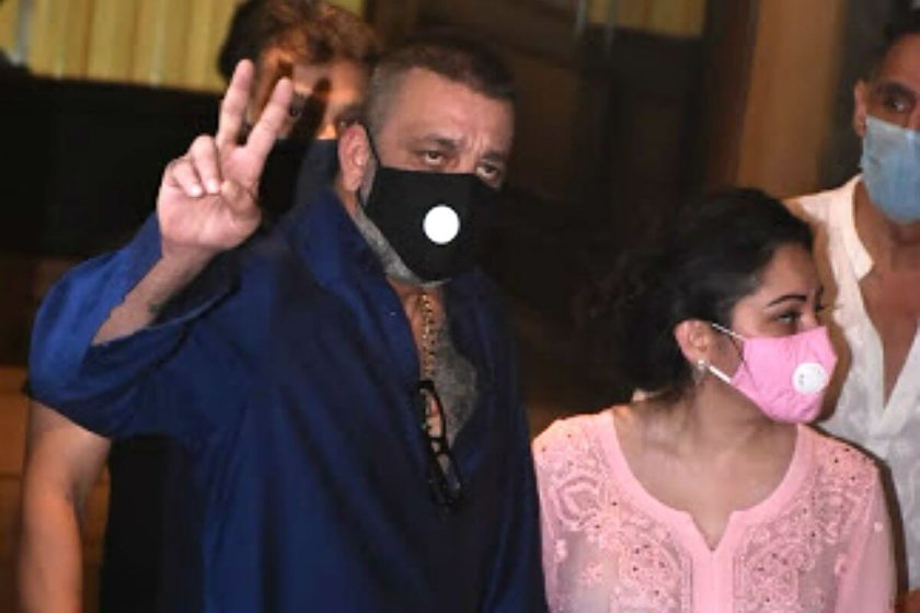 At age of 61 Sanjay Dutt currently suffering from cancer ...