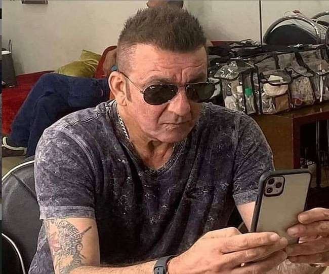 """Picture of Sanjay Dutt """"battling with cancer"""" also went ..."""